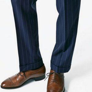 Подшитые брюки