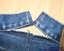 распарываем брюки