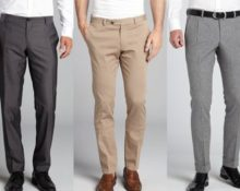 длина мужских брюк