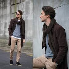 Кроссовки под мужское пальто
