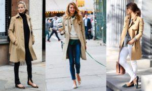 Лёгкая обувь под женское пальто