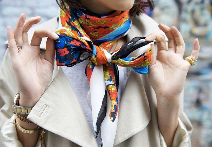 Выбор шарфа