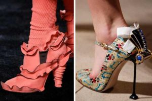 Оригинальные туфли стилистов
