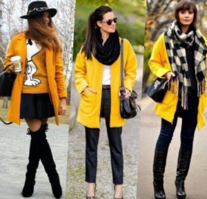 Образы с жёлтой курткой
