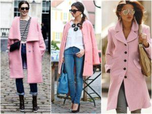 Обувь под ярко-розовое пальто