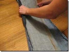 Сузить брюки снизу