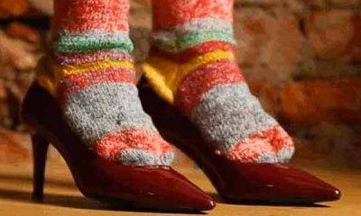 Растянуть туфли из кожзама
