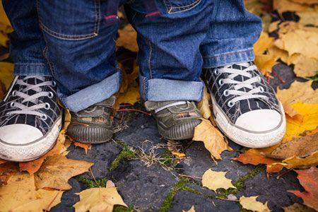 Ботинки на байке ребенку