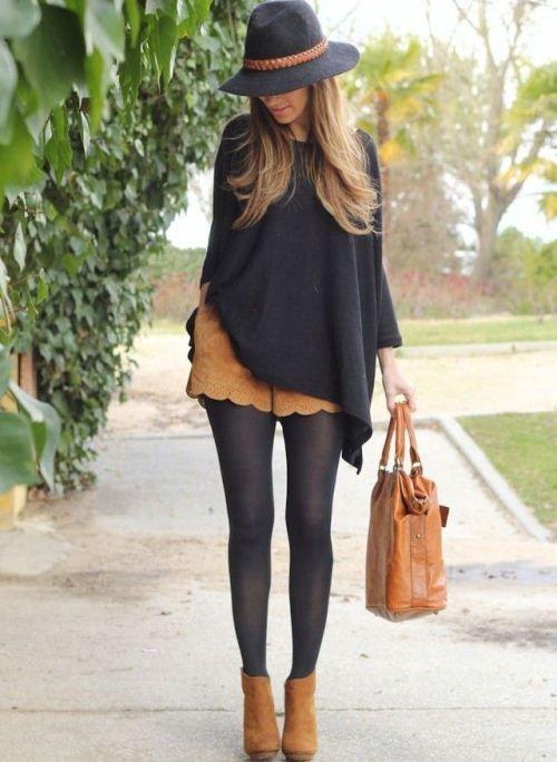 Рыжие женские ботинки: с чем носить