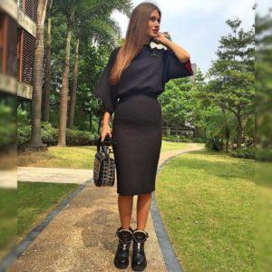 Классические чёрные ботинки