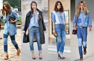 Туфли и босоножки под джинсовку