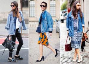 Туфли и ботинки под джинсовую куртку