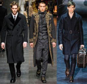 Туфли и мужское пальто