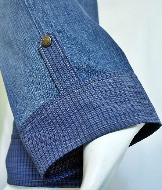 Удлинить брюки манжетами