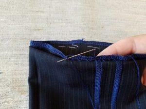 Удлинить брюки