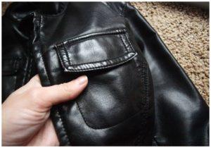 Вазелин для размягчения кожаной куртки