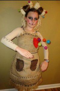 костюм куклы вуду