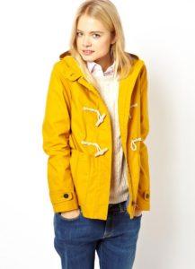 Жёлтая куртка