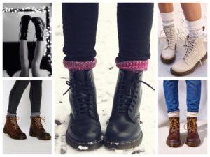 ботинки и носки - как сочетать