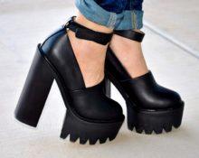 с чем носить ботинки на тракторной подошве
