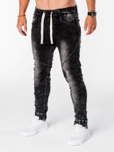 джинсовые мужские джоггеры