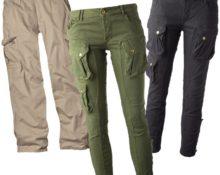 брюки карго женские и мужские