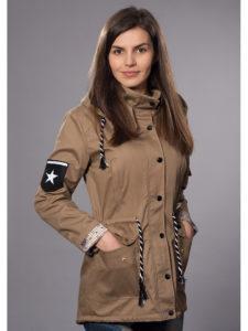 демисезонная куртка парка женская