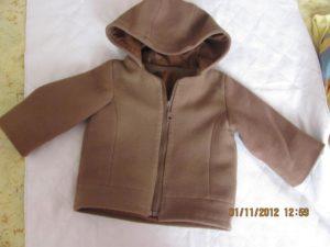 выкройка куртки для девочки 1 год