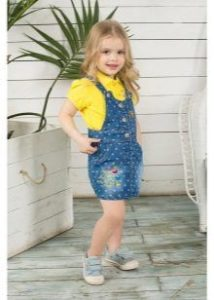Модный сарафан для девочки