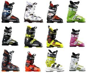 Виды горнолыжных ботинок