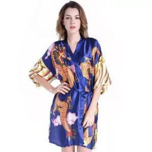 Халат кимоно короткий