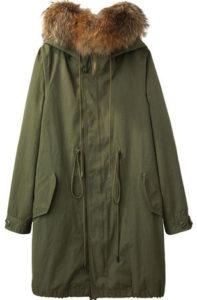 изначальный вид куртки парки