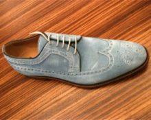 как чистить замшевые туфли