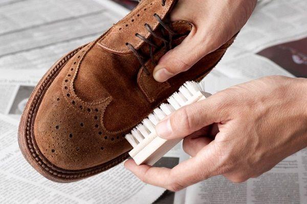 правила ухода за замшевыми туфлями