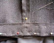 как подшить брюки вручную