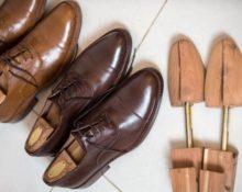 растяжки для кожаных туфель