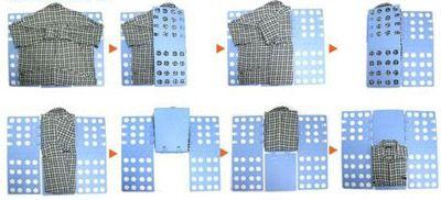 складывалка для свитера