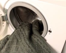 свитер в стиральной машине