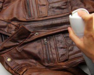 убрать запах с кожаной куртки от табака