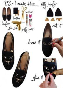 рисунки на туфлях