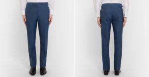 Ушиваем по среднему шву мужские брюки