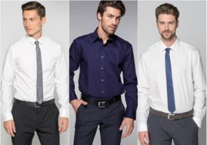 мужчины в рубашках
