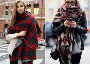 шарф и шаль