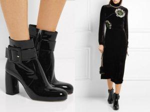 Ботинки для бизнес-леди.