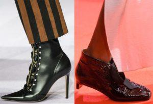 Оригинальные каблуки ботинок