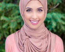 красиво завязать хиджаб