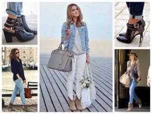 Красивые образы с ботинками