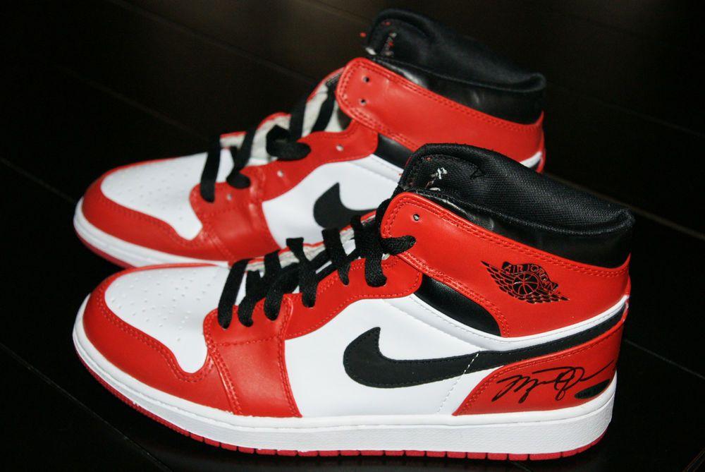 кроссовки с подписью Джордана
