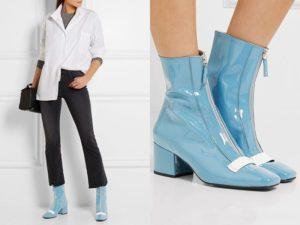 Высокие ботинки с брюками