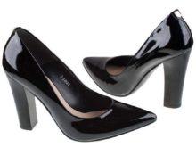 с чем носить лаковые туфли